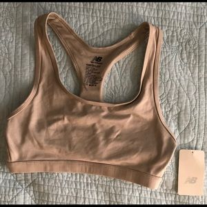 Women's New Balance Racer Back Bra with Tags